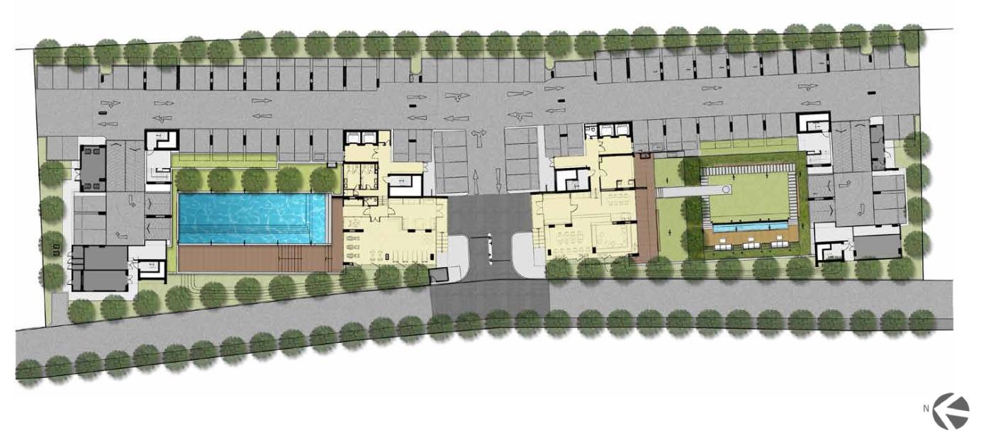 คอนโดซอยลาซาล โครงการเอสเพน คอนโด เฟส B Urban One-stop Living จาก MANA Development