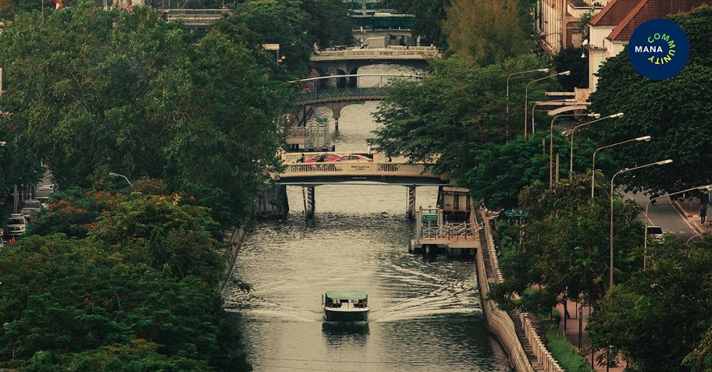 เชื่อมอดีต เชื่อมเมือง ล่องเรือเล่าเรื่องคลองผดุงกรุงเกษม